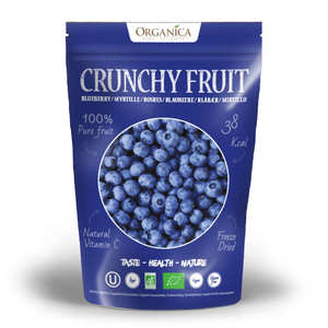 Organica - Crunchy fruit - Organic Freeze-Dried Blueberry