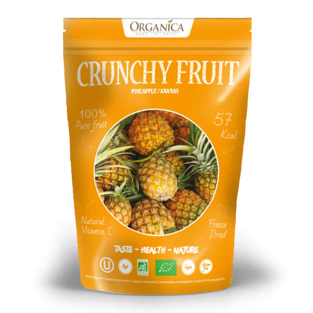 Crunchy fruit - ananas lyophilisé bio