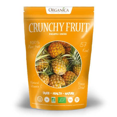 Organica - Crunchy fruit - Organic Freeze-Dried Pineapple