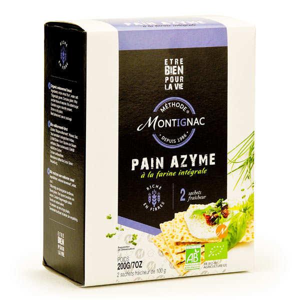 Pain azyme à la farine intégrale - Montignac