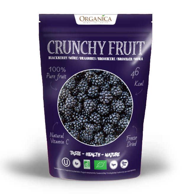 Crunchy fruit - Organic Freeze-Dried Balckberry