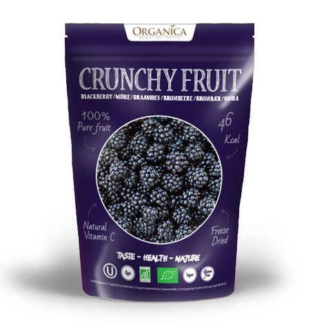 Organica - Crunchy fruit - Organic Freeze-Dried Balckberry