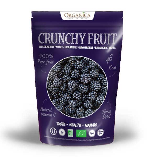 Crunchy fruit - mûre sauvage lyophilisée bio