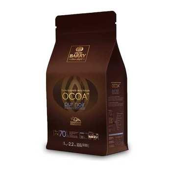 Cacao Barry - Ocoa™ Chocolat de couverture noir 70% - en pistoles
