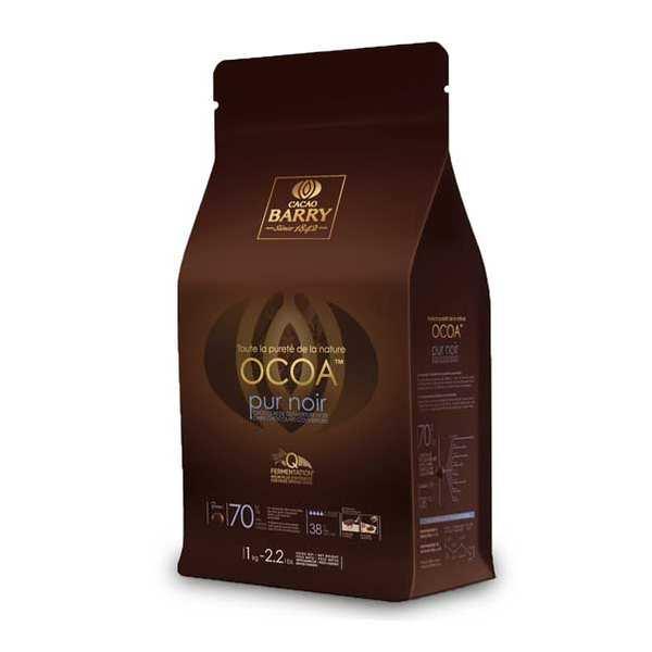 Ocoa™ Chocolat de couverture noir 70% - en pistoles