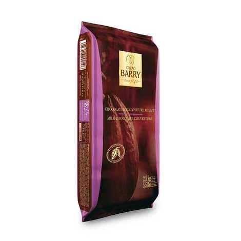 Cacao Barry - Lactée supérieur - Chocolat de couverture lait 38.2%