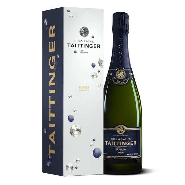 Champagne Taittinger Brut Prélude Grands Crus - la bouteille de 75cl et son étui