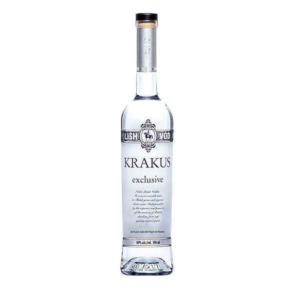Krakus Exclusive Polish Vodka 40 Krakus
