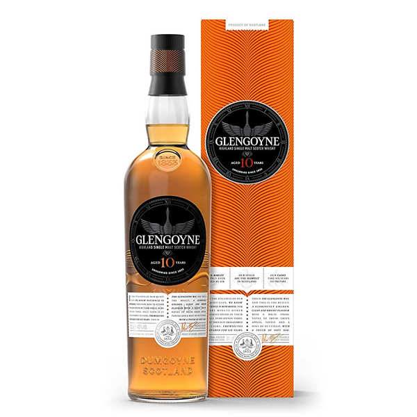 Glengoyne 10 ans d'âge - single highland malt scotch whisky - 40%