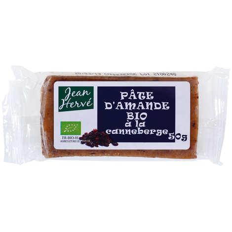 Jean Hervé - Organic almond paste with cranberries