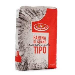 Le 5 Stagioni - Farine à pizza pro type 1 - Macinata a pietra
