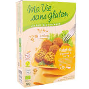 Ma vie sans gluten - Organic Falafel with vegetables and curry - gluten free