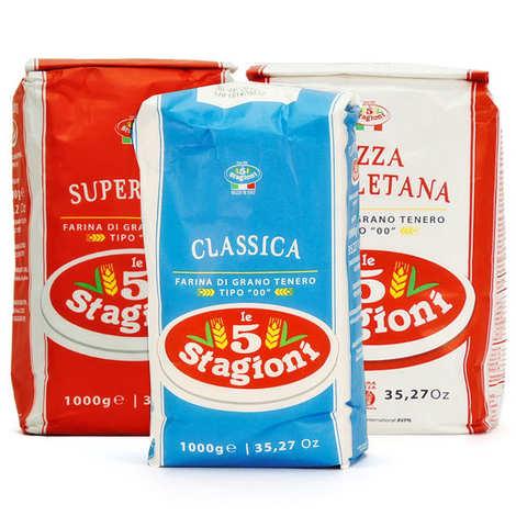 Le 5 Stagioni - Trio de farines à pizza italiennes