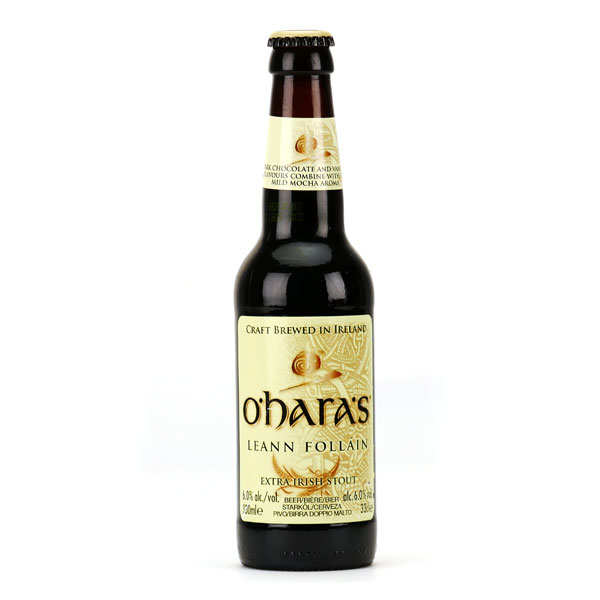 O'Hara's Leann Follain - Bière irlandaise stout 6%