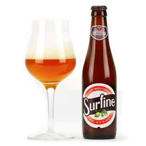 Brasserie Dubuisson - Surfine - Bière belge triple de saison 6.5%
