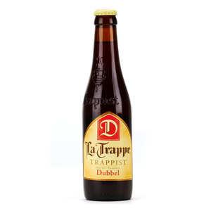 Abbaye de Koningshoeven - La Trappe Dubbel - Bière trappiste des Pays-Bas 7%