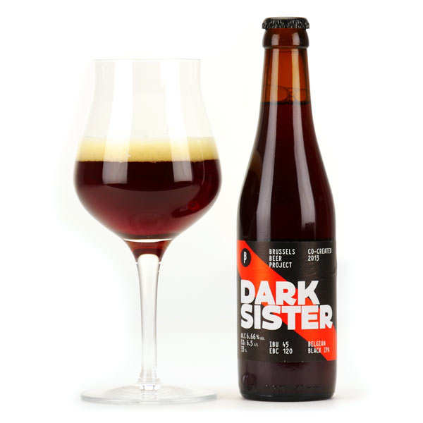 Dark Sister  - Belgian Beer Black IPA 6.66%