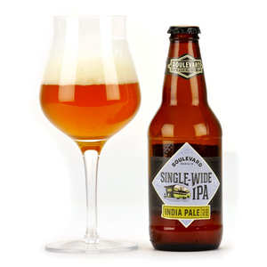 Boulevard Brewing company - Single-Wide IPA - Bière craft des US 5.7%
