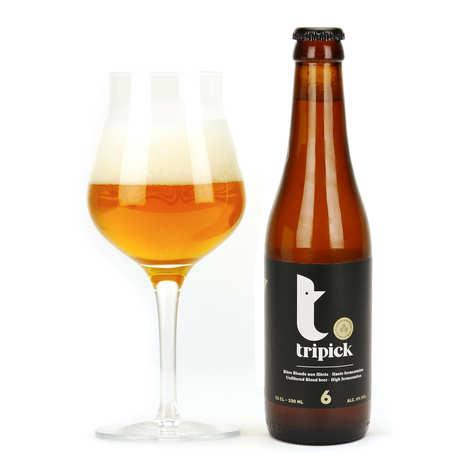 Brasserie les 3 Fourquets - Tripick - Bière belge blonde 6%