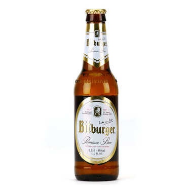 Bitburger - Bière premium allemande 4.8%