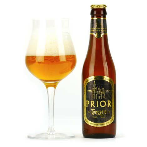 Brasserie Haacht - Tongerlo Prior Triple - Bière belge blonde d'abbaye 9%