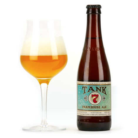 Boulevard Brewing company - Tank 7 Farmhouse Ale - US Craft Beer 8.5%