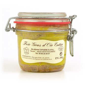 Michel Catusse - Foie gras d'oie entier du Sud-Ouest
