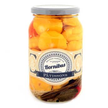 Bornibus - Pâtissons aigre-doux