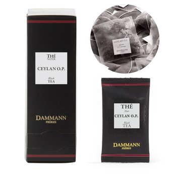 "Dammann frères - Ceylon OP black tea in ""Cristal"" sachets by Dammann Frères"