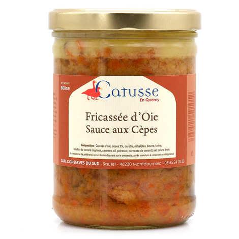 Michel Catusse - Fricassée d'oie sauce aux cèpes