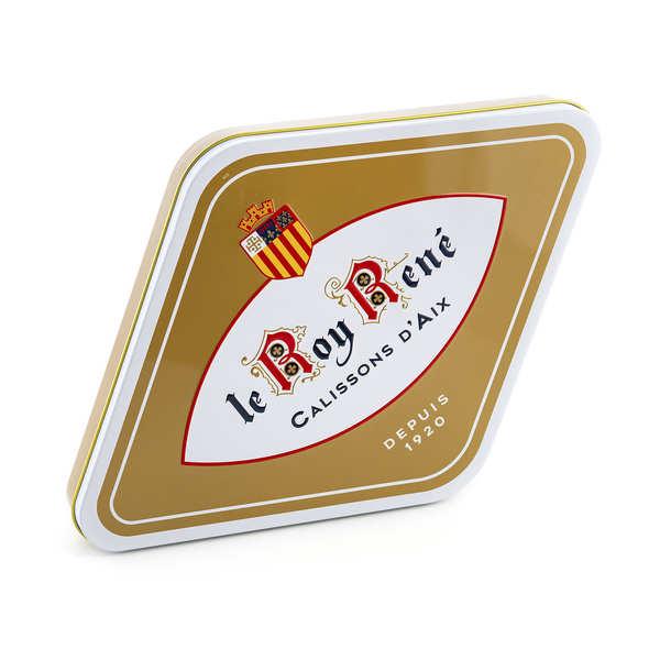 Calissons d'Aix Roy René - boîte losange