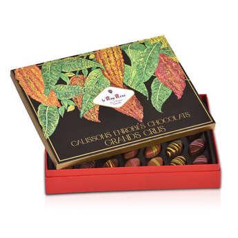 Le Roy René - Calissons d'Aix enrobés de chocolat Roy René - coffret grands crus