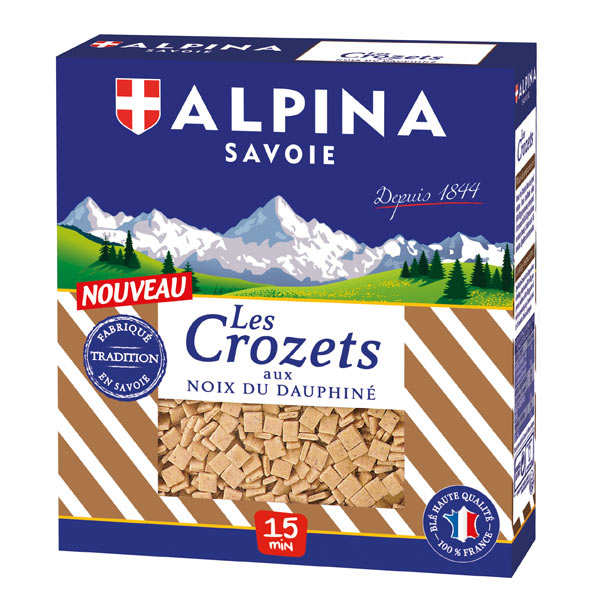 Crozets aux noix du Dauphiné