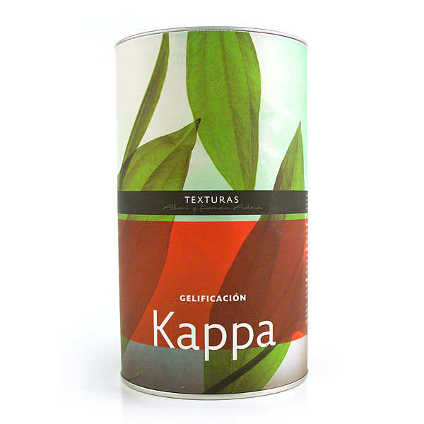 Kappa, carraghénane kappa - Texturas