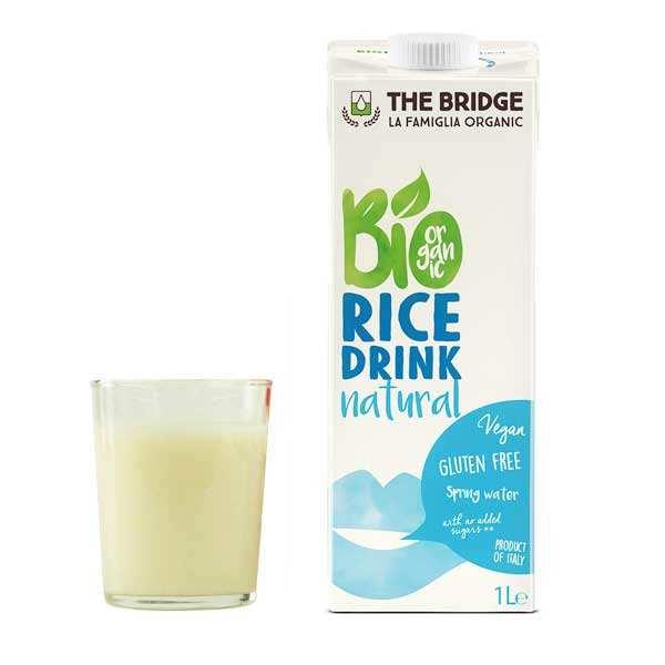 Boisson au riz bio et sans gluten