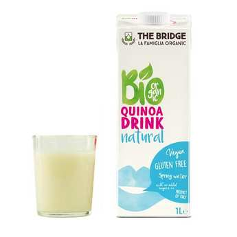 The Bridge Bio - Boisson au quinoa bio et sans gluten