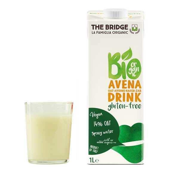 Organic And Gluten-Free Oats Beverage