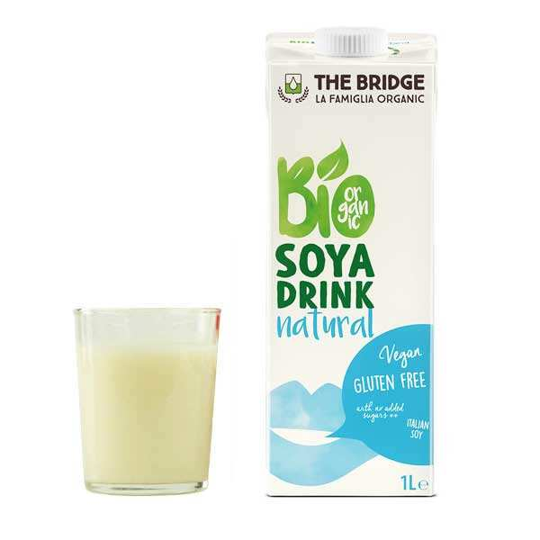 Organic and Gluten-Free Soya Beverage