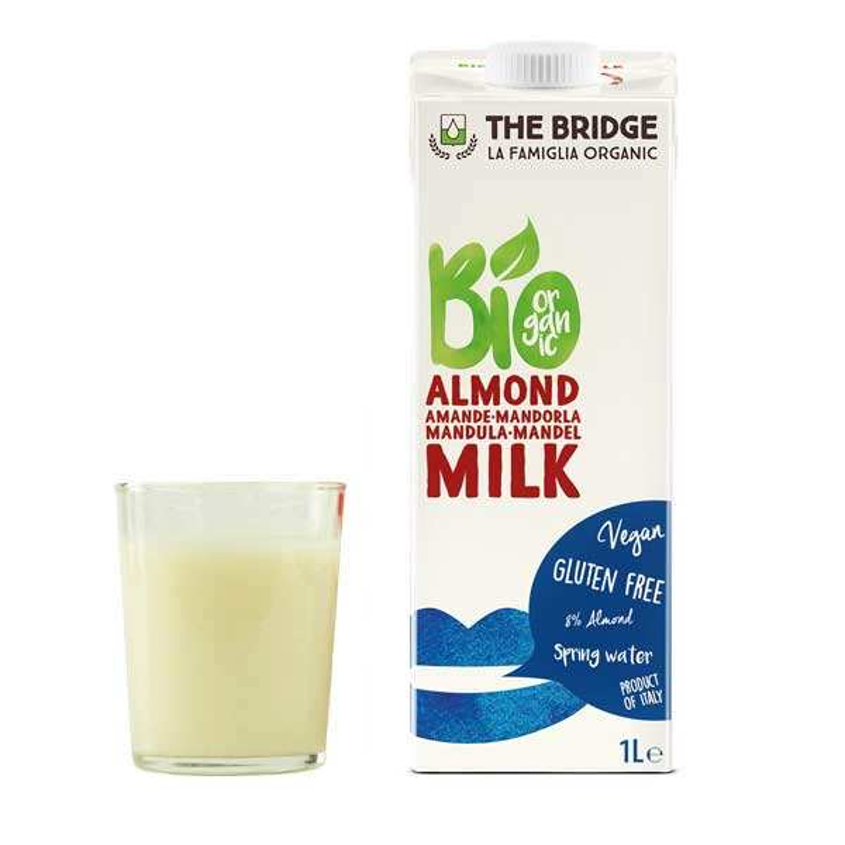 Organic and Gluten-Freee Almond Beverage