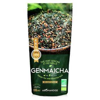 Aromandise - Organic Green Tea And Roasted Rice Genmaicha