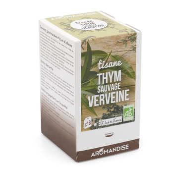 Aromandise - Organic Wild Thyme And Verbena Herbal Tea
