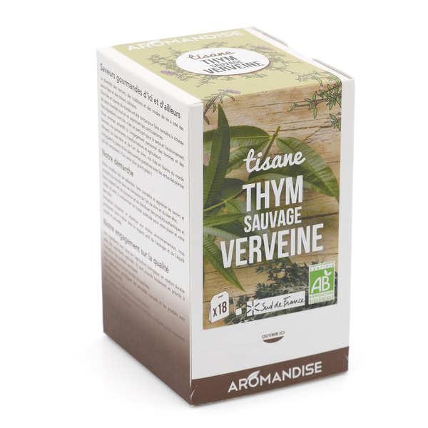 Organic Wild Thyme And Verbena Herbal Tea