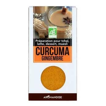 Aromandise - Organic Ginger Turmeric Latte