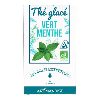 Aromandise - Organic Iced Green Tea With Mint