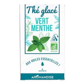 Aromandise - Thé vert glacé à la menthe bio