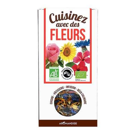 Aromandise - Cuisinez avec des fleurs - Fleurs à croquer bio