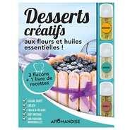 Aromandise - Coffret de préparation de desserts créatifs aux fleurs et huiles essentielles