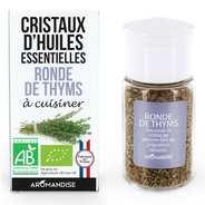 Aromandise - Ronde de Thyms - Cristaux d'huiles essentielles à cuisiner - Bio