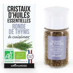 Aromandise - Organic essential oil crystals - Thymes Medley