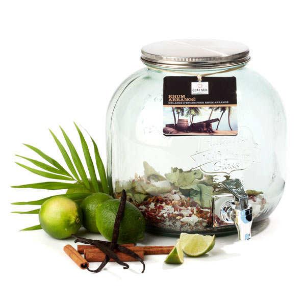 Spiced Rum Dispenser